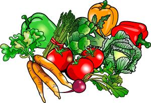 Vegetable Clip Art Fruits .-Vegetable clip art fruits .-14