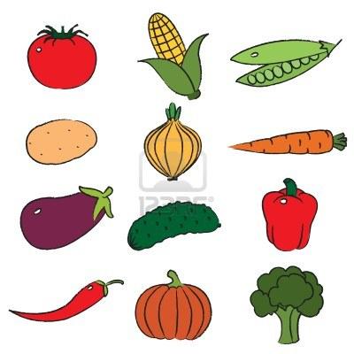 Vegetable Clip Art-Vegetable Clip Art-6