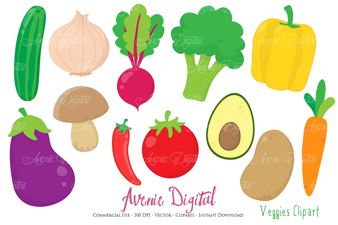 Vegetable Clipart-Clipartlook.com-1160