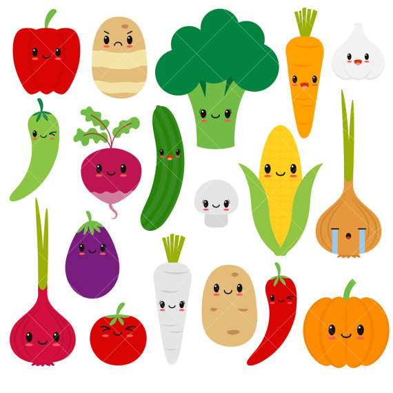 Vegetable Clipart-Clipartlook.com-570