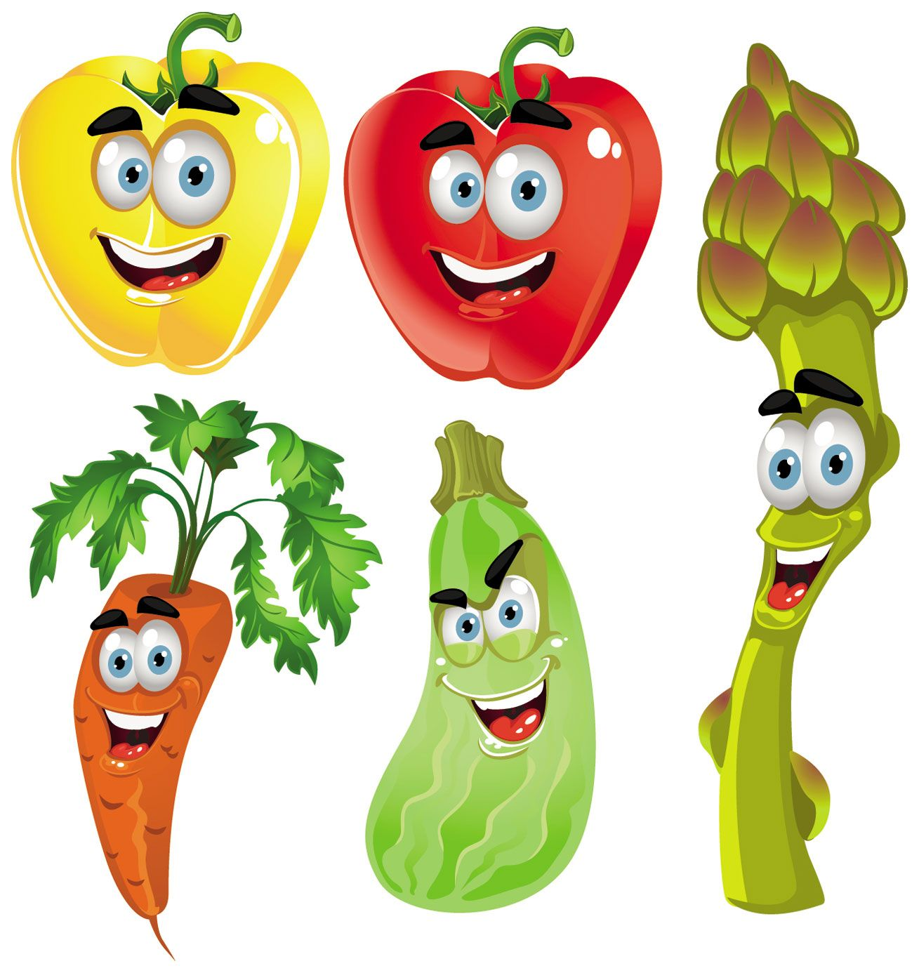 Fruits And Vegetables Clipart - Vegetable Clipart