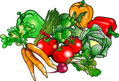 Vegetables Clip Art - Vegetable Clipart