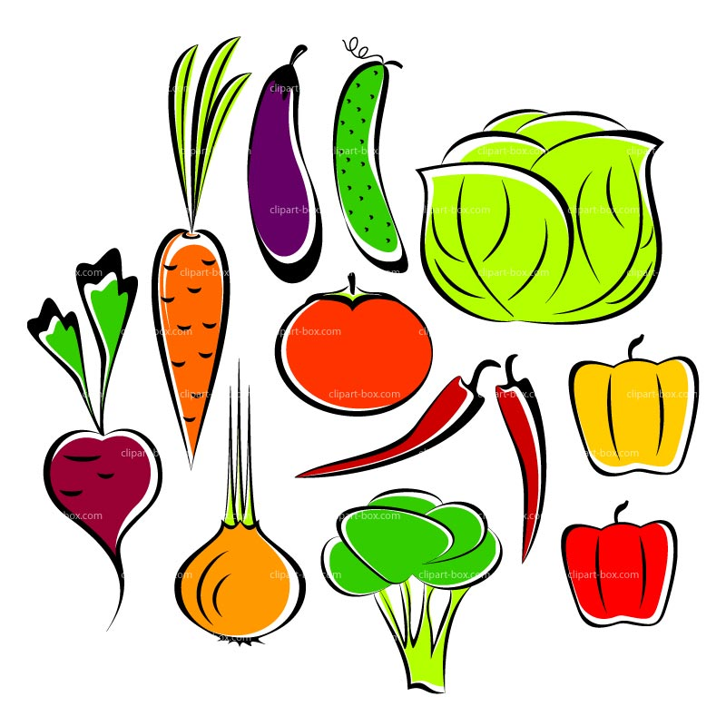 Vegetables clipart free clipart images 4
