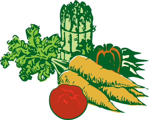 Vegetables (huge) clip art .