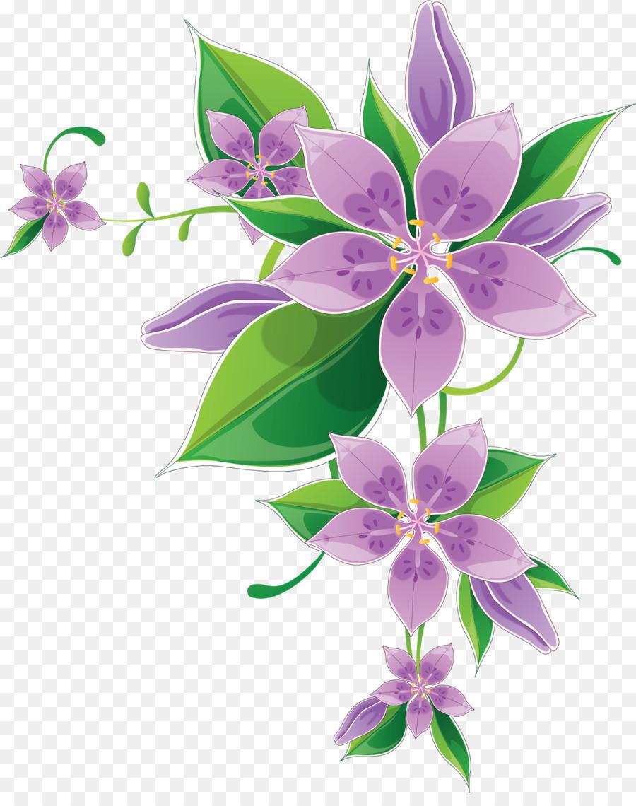 Border Flowers Drawing Clip a - Venkateswara Clipart