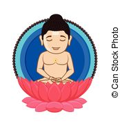 Lord Mahavira - Indian Saint  - Venkateswara Clipart