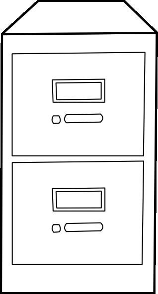 Vertical File Cabinet Clip Art At Clker Com Vector Clip Art Online