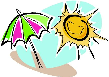 Very Hot Weather Clipart