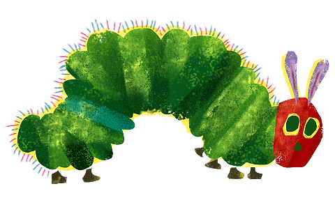 Very Hungry Caterpillar .