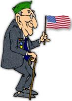 veteran American flag