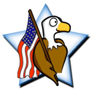 Veterans day clipart 2. All-American-supporter