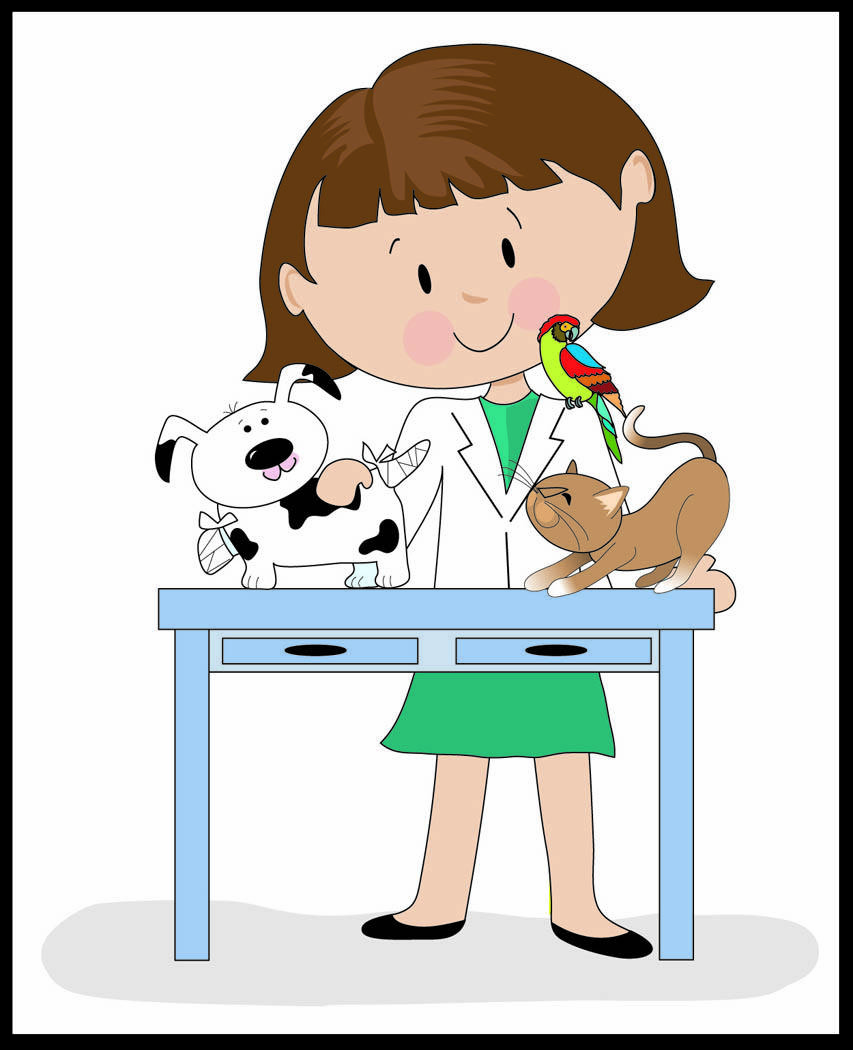 Veterinary Assistant Clipart