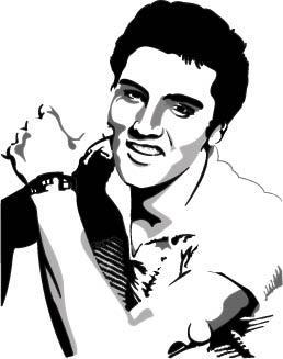 ... Vetor 3 Elvis Presley Autor Leaomal ...