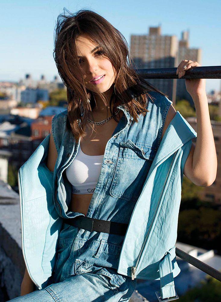 Victoria Justice - Never Has Calvin Klei-Victoria Justice - never has Calvin Klein looked so tempting-10