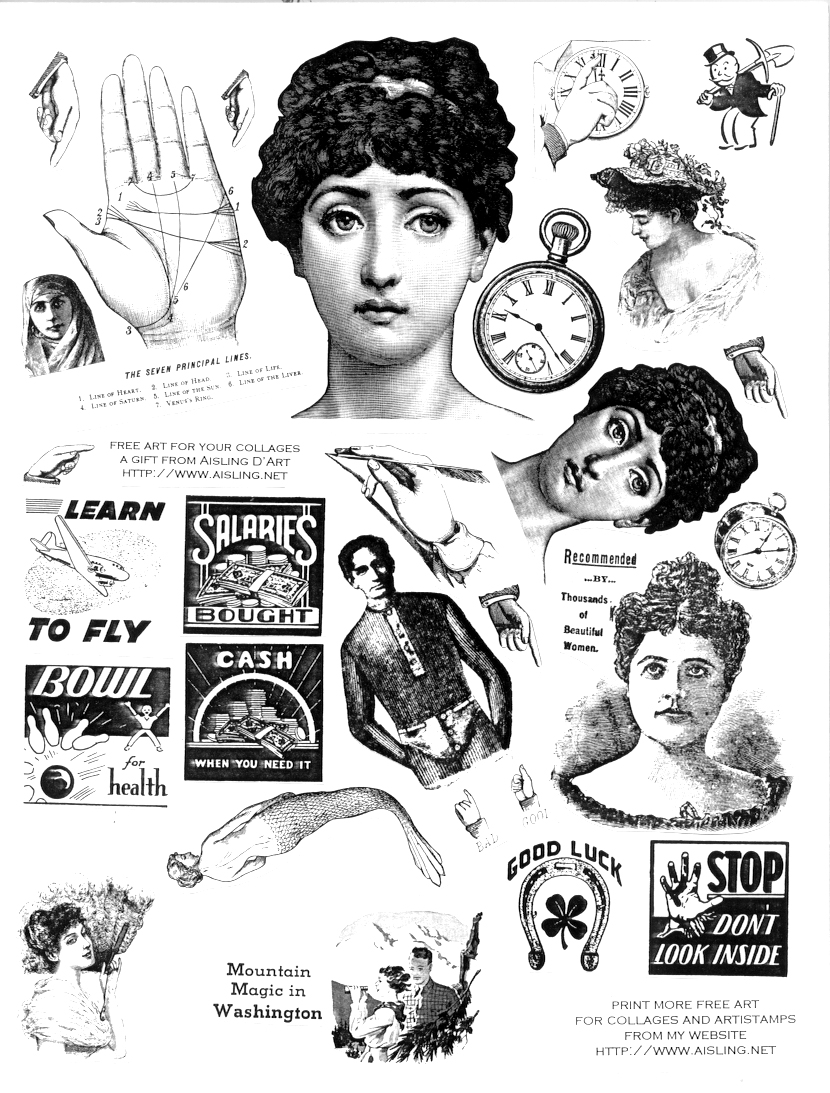 Victorian Clipart. The Arsenic .-Victorian Clipart. The Arsenic .-18