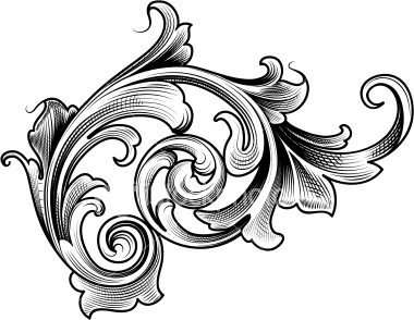 Victorian Filigree Clipart #1-Victorian Filigree Clipart #1-2