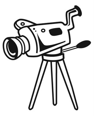 Video Camera Clipart Black And White | Clipart library - Free