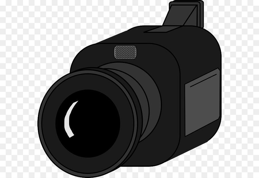 Video Cameras Camera Lens Clip Art - Vid-Video Cameras Camera lens Clip art - video recording-16