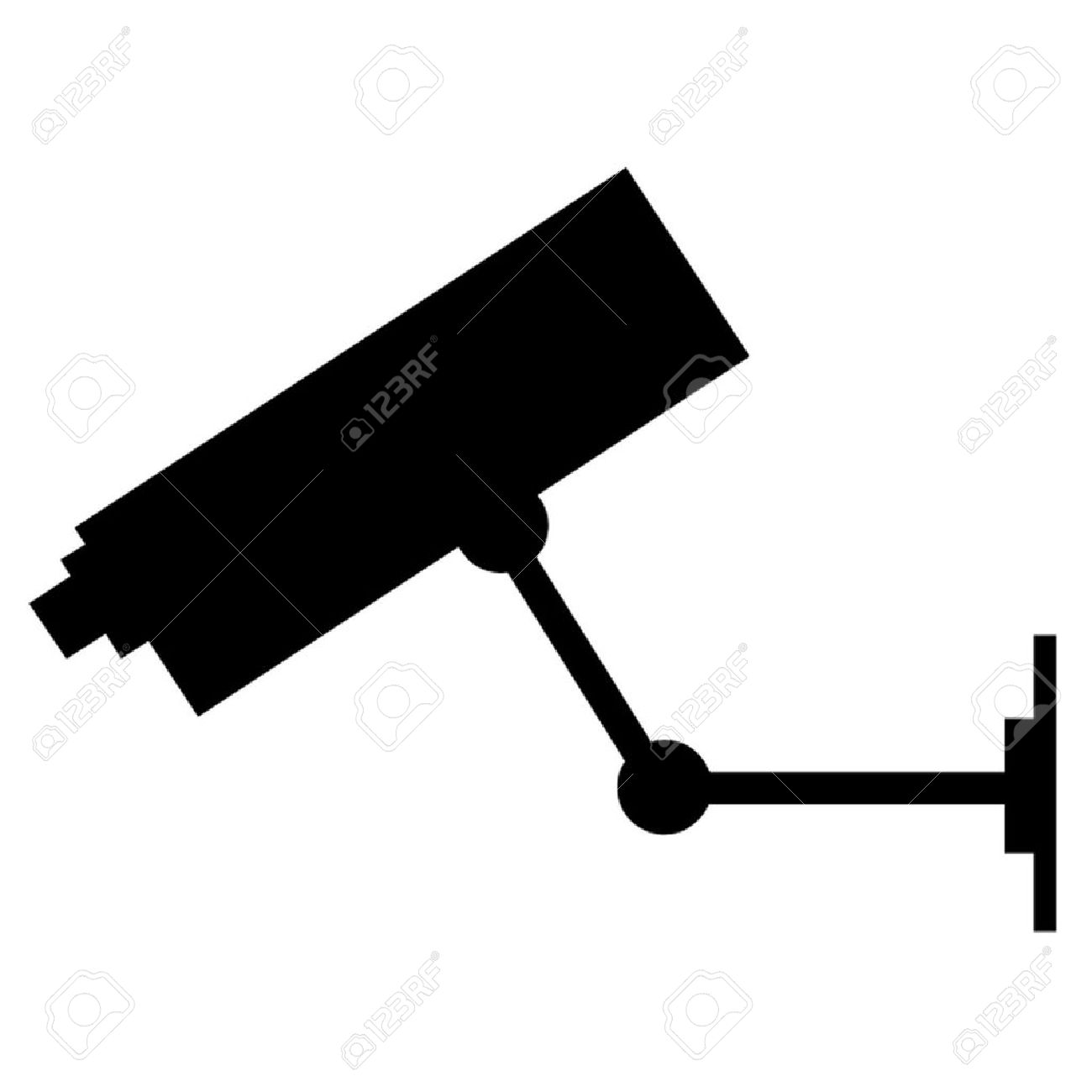Video Surveillance Camera Clip Art
