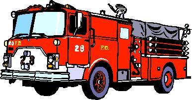 View Fire Truck Clipart 6kb