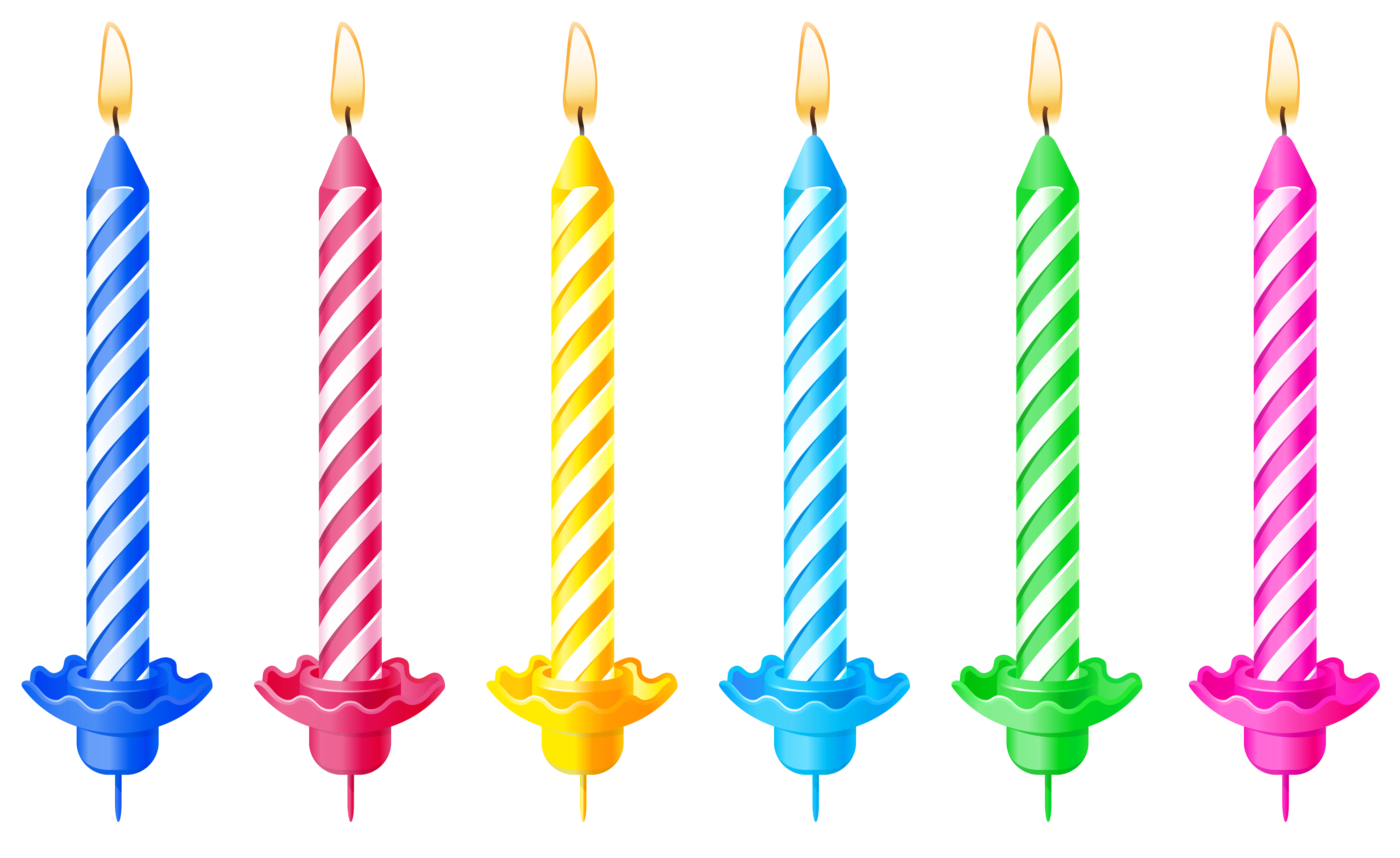 View full size ? - Birthday Candle Clipart