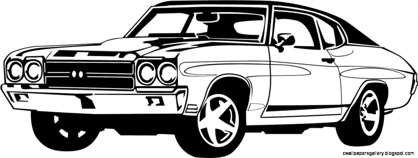 View Original Size. classic car clipart black and white Vehicle Pictures Image source from this