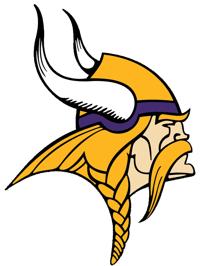 Vikings Logo Cut Free Images  - Vikings Clipart