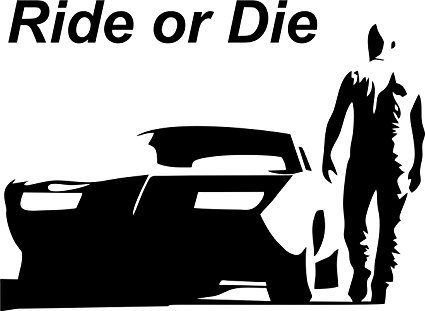Shadow-Walls Small Vin Diesel-Ride or Di-Shadow-Walls Small Vin Diesel-Ride or Die Vinyl Car Stickers For Sides,-20