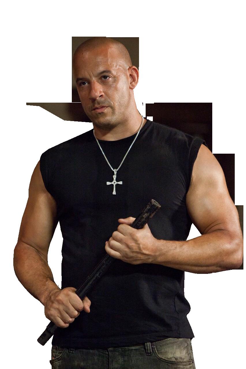Vin Diesel PNG File