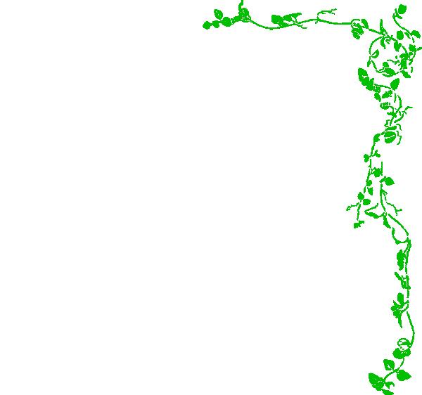 Vine Border Green Clip Art Vector Clip Art Online Royalty Free