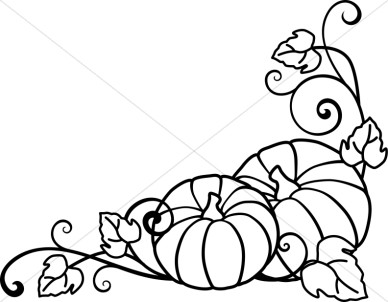 63+ Fall Clip Art Black And White | ClipartLook