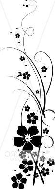vine clipart   Morning Glory Vine Clipart   Flower Clipart