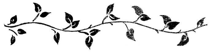 Vine Silhouette Clipart-Vine silhouette clipart-14