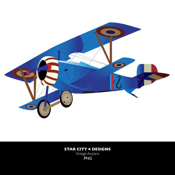 Vintage Airplane Clip Art Clipart Vector-Vintage Airplane Clip Art Clipart Vector Art Graphics For Personal-8