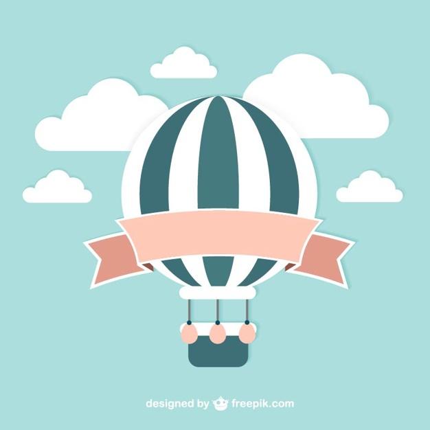 Vintage Balloon Vector-Vintage balloon vector-18