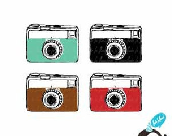 Vintage Camera Clip Art 01 - Vintage Camera Clipart