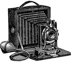 vintage camera clip art - Vintage Camera Clipart