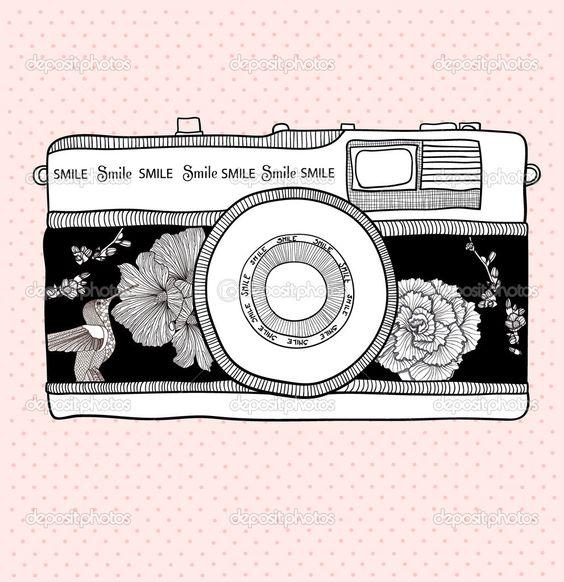Vintage Cameras Clip Art 20 I