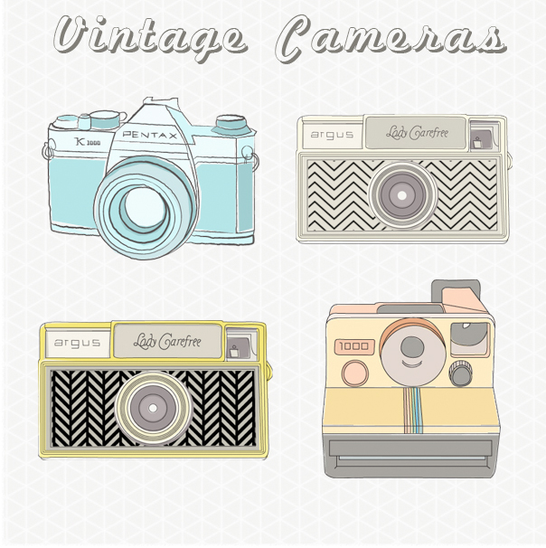 Vintage Camera Images Vintage - Vintage Camera Clipart