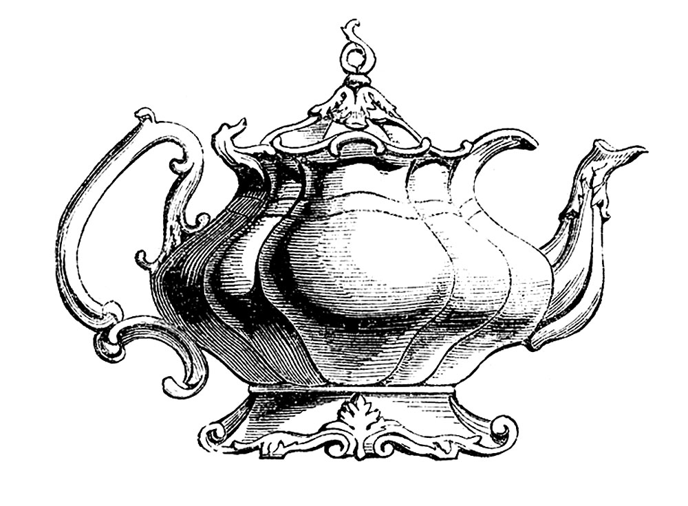 Vintage Clip Art u2013 Best Teapot Ever!-Vintage Clip Art u2013 Best Teapot Ever!-9