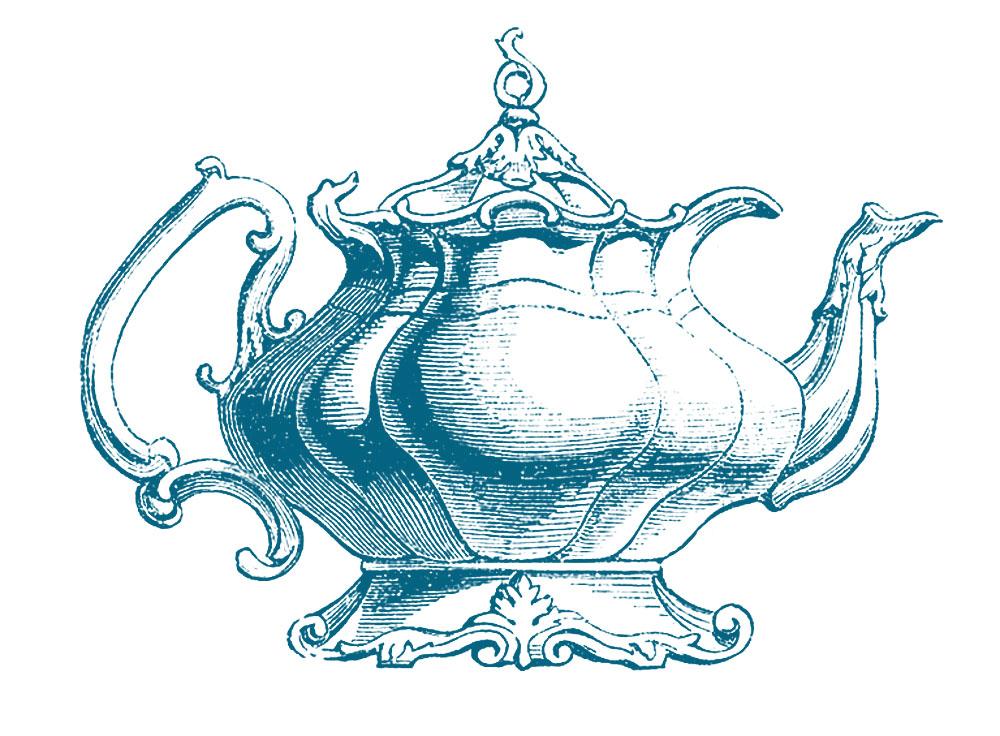 Vintage Clip Art u2013 Best Teapot Ever!