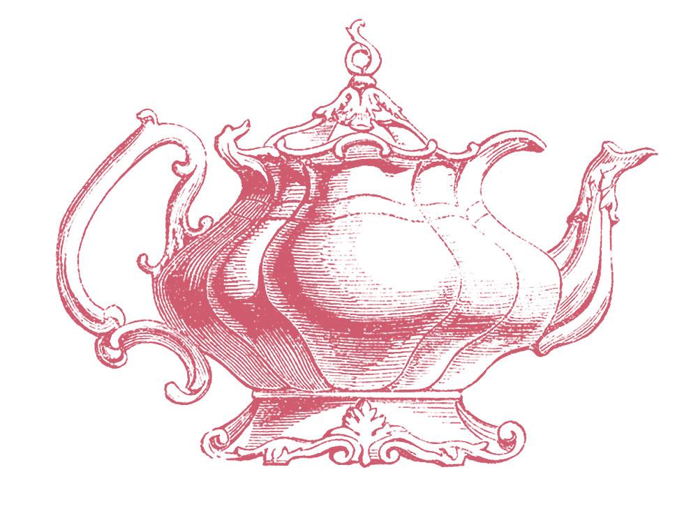 Vintage Clip Art U2013 Best Teapot Ever!-Vintage Clip Art u2013 Best Teapot Ever!-18