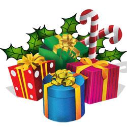 Vintage Clipart - Christmas Present-Vintage clipart - Christmas Present-16