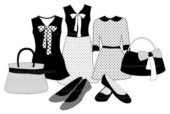 Vintage fashion design clipart free clipart image 2 image