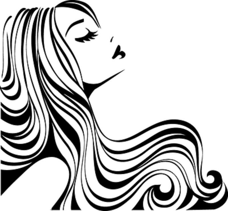 Vintage Hair Salon Clipart