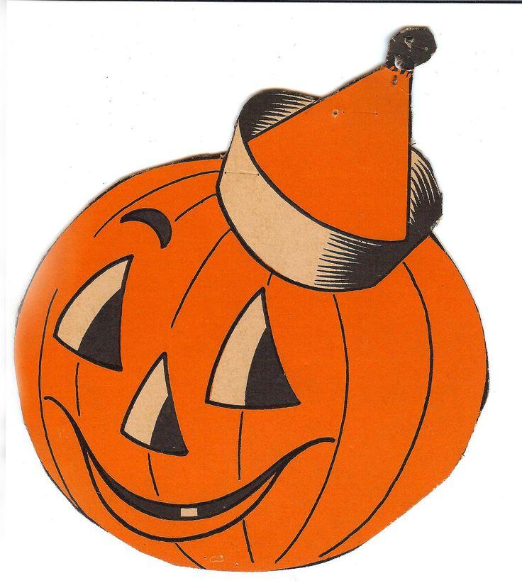 Vintage Halloween Decorations Cutouts Cl-Vintage Halloween Decorations Cutouts Clipart - Free Clip Art Images-18