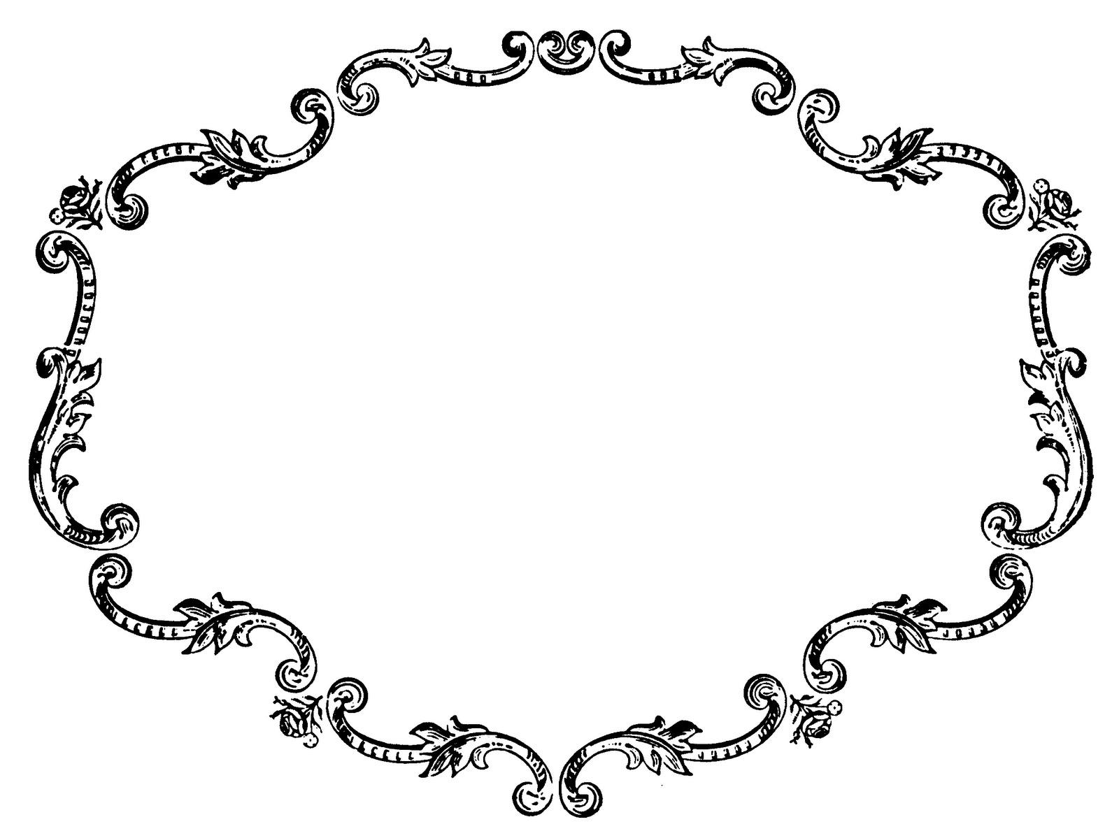 Vintage Picture Frame Clip Art. 48cc845259c5811e1732150fae37e9 .