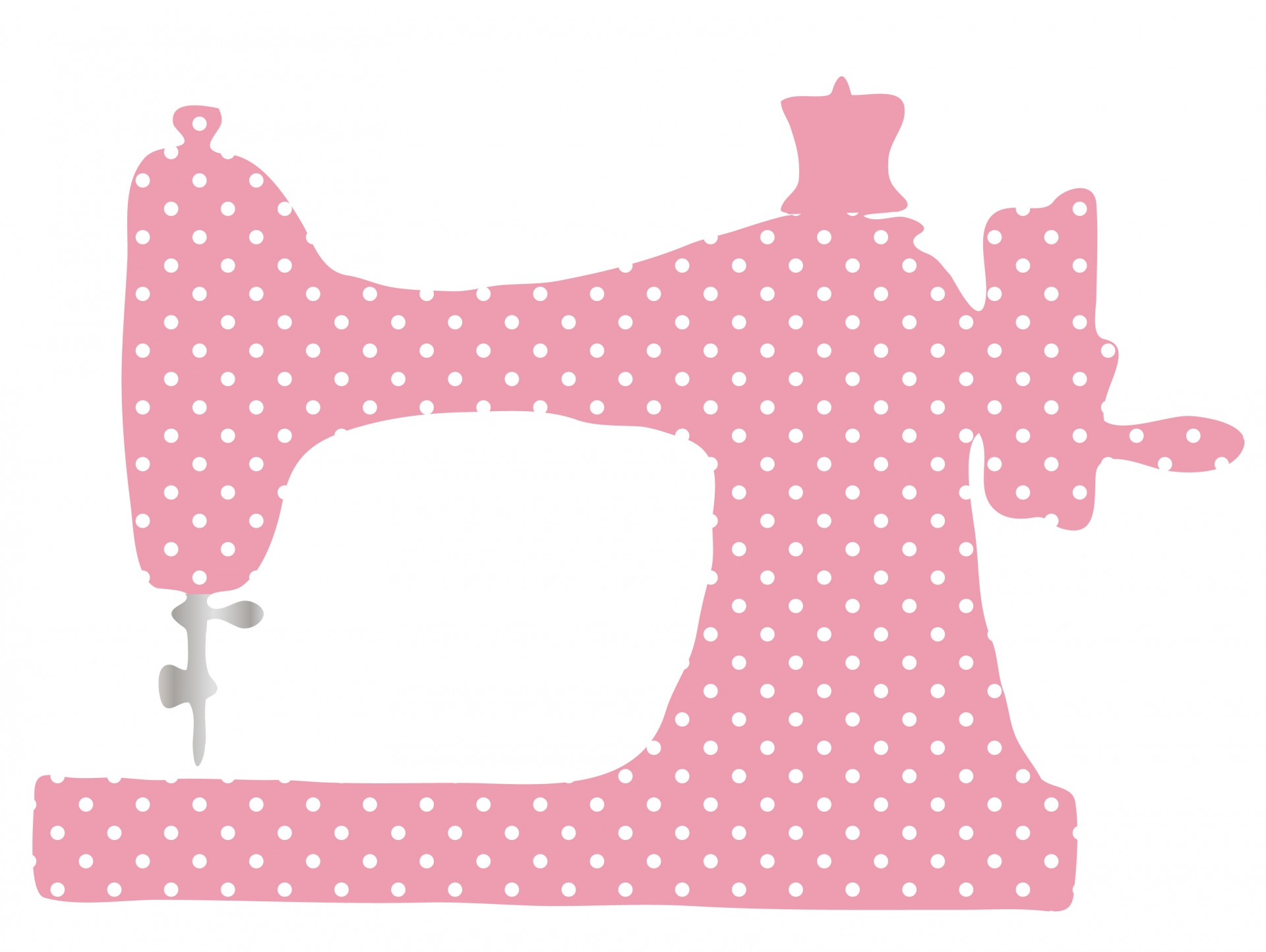 Vintage Sewing Machine Clipart