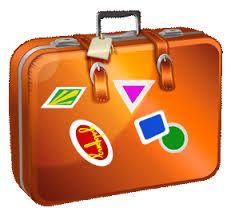 vintage suitcase clipart - Go - Clipart Suitcase