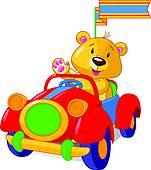 Vintage Toy Car; Red Toy Car ...-vintage toy car; red toy car ...-13
